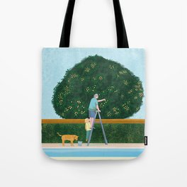 Lovely Afternoon Tote Bag
