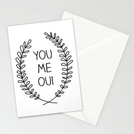 You Me Oui Stationery Cards