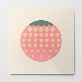 strawberry || retro dusty Metal Print