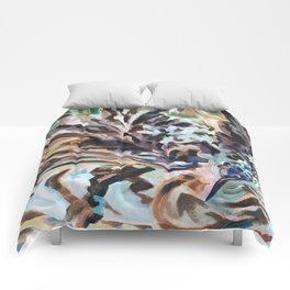 Bathing Grackle Comforters