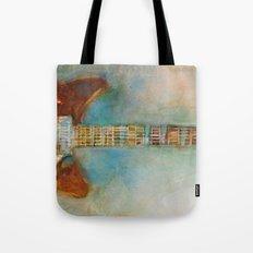 Rickenback Guitar Tote Bag