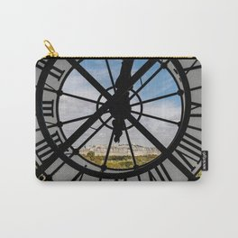 Clock at the Musee d'Orsay Carry-All Pouch