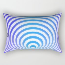 Target Illusion Rectangular Pillow