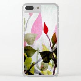 Rosebush Clear iPhone Case