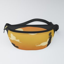 My Hero Sunset Fanny Pack