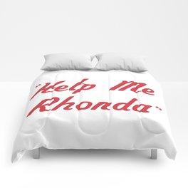 """Help Me Rhonda"" Comforters"