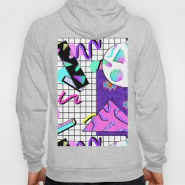 Trapper Keeper 80s Crazy Grid Design Hoody