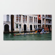 Submarine In The City Canvas Print