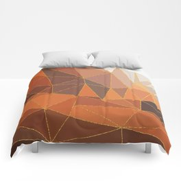 Autumn abstract landscape 5 Comforters