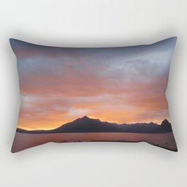 Sunset on the Isle of Skye Rectangular Pillow