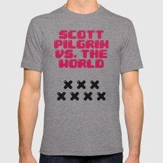 Scott Pilgrim vs. The World Tri-Grey 2X-LARGE Mens Fitted Tee