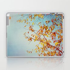 textured leaves. Laptop & iPad Skin