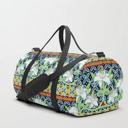 Elizabethan Folkloric Lily Duffle Bag