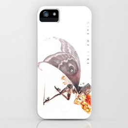kiss of fire iPhone Case