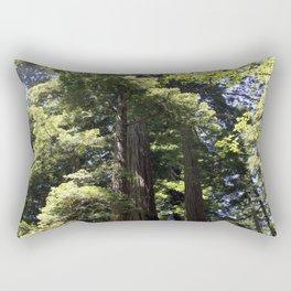 Redwood Treetops Rectangular Pillow