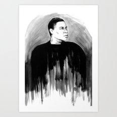 DARK COMEDIANS: Tracy Morgan Art Print