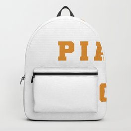 Piano Is My Sport - Piano Chords Backpack