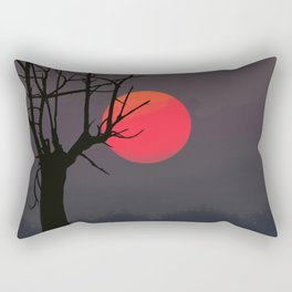 African Sunset by Chris Ellis Rectangular Pillow