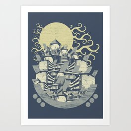 Every Faculty Of The Mind Art Print