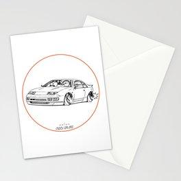 Crazy Car Art 0216 Stationery Cards