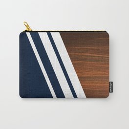 Wooden Navy Carry-All Pouch