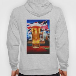 English Beer In A London Pub Hoody