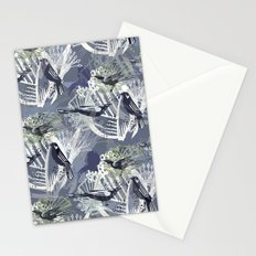 Birds Pattern Stationery Cards