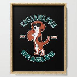 Chilladelphia Beagles Serving Tray
