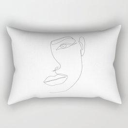 Eye Connection Rectangular Pillow