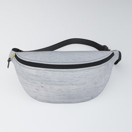 Blue-gray wood texture Fanny Pack