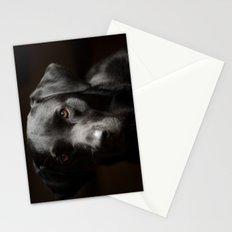Black Labrador   Stationery Cards