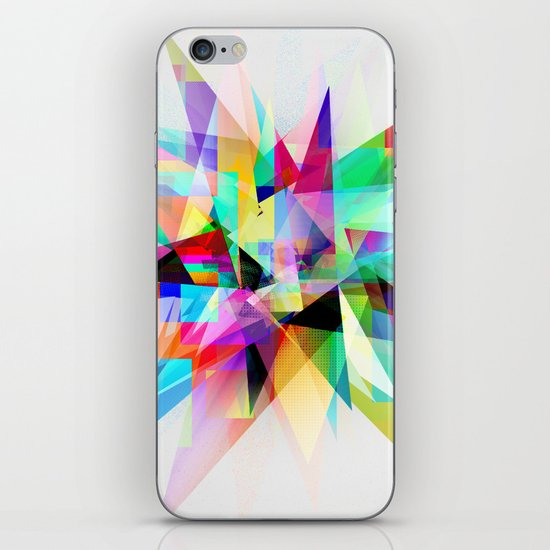 Colorful 3 iPhone & iPod Skin
