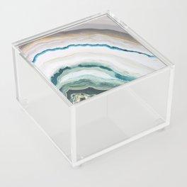 Green Agate #1 Acrylic Box