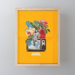 Flowerss Framed Mini Art Print