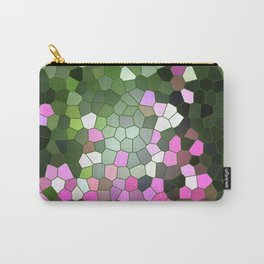 Lavender garden Stained glass Carry-All Pouch
