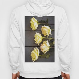 Country Yellow Roses Hoody
