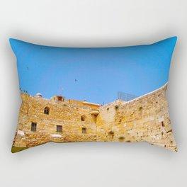 Western Wall Rectangular Pillow