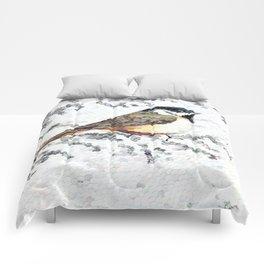 Chickadee Hole Punch Comforters