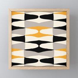 Zaha Bee Framed Mini Art Print