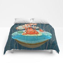 The Flutist Comforters