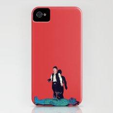 Over my dead body iPhone (4, 4s) Slim Case