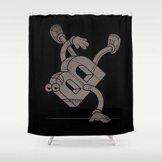 B-Boy Shower Curtain