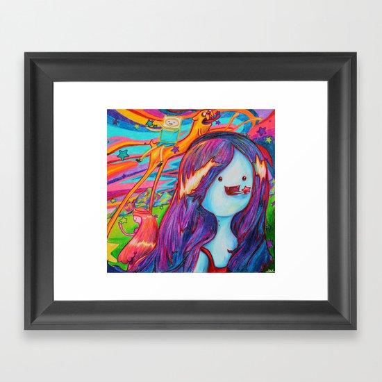 adventure time - starmunchin'! Framed Art Print