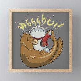 Wasshoi! Framed Mini Art Print