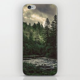 Pacific Northwest River - Nature Photography iPhone Skin