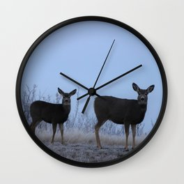 My Darling Deer Wall Clock