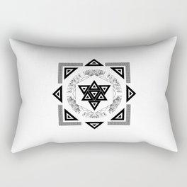 Triangels Rectangular Pillow