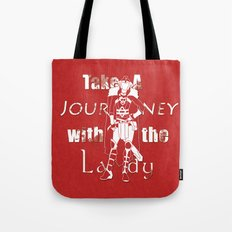 Take A Journey With The Lady Tote Bag