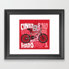 All My Bikes: 9, Haro Group 1 Framed Art Print