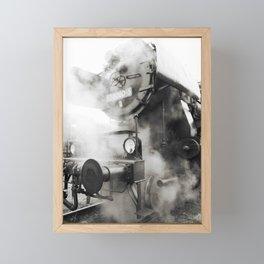 Steam power Framed Mini Art Print